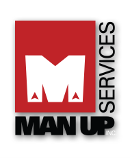 Man Up services, Inc. logo